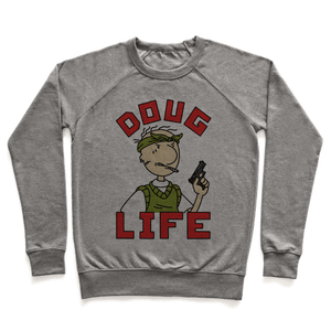 Doug Life Sweatshirt - Heathered Gray