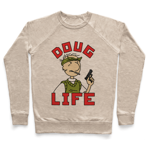 Doug Life Sweatshirt - Heathered Oatmeal