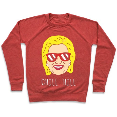 Chill Hill Sweatshirt - Heathered Red