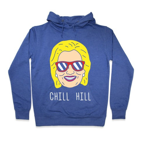 Chill Hill Hoodie - Heathered Blue