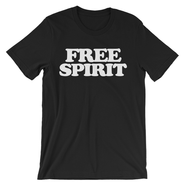 Free Spirit T-Shirt - Black