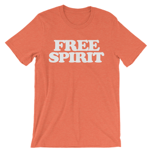 Free Spirit T-Shirt - Heather Orange