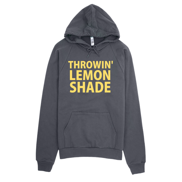 Throwin' Lemon Shade Hoodie - Asphalt
