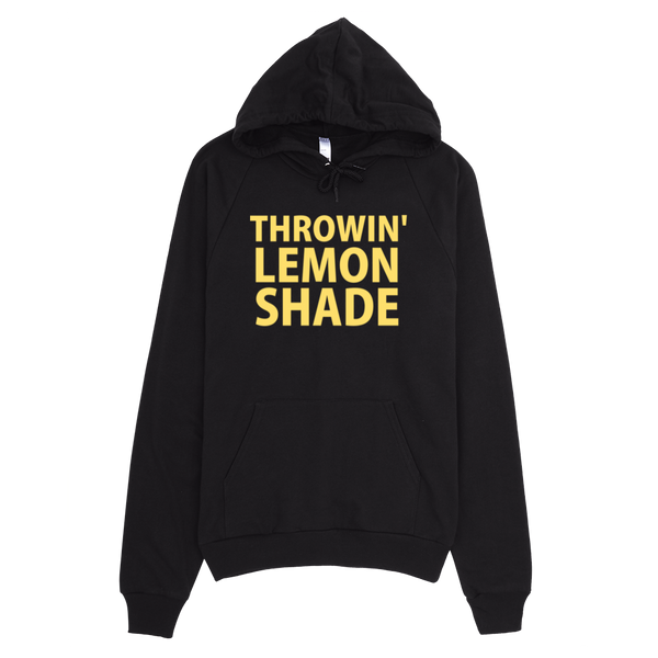 Throwin' Lemon Shade Hoodie - Black
