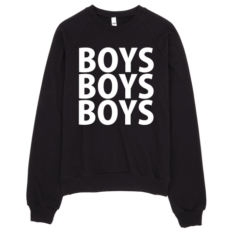 Boys Boys Boys Sweatshirt - Black