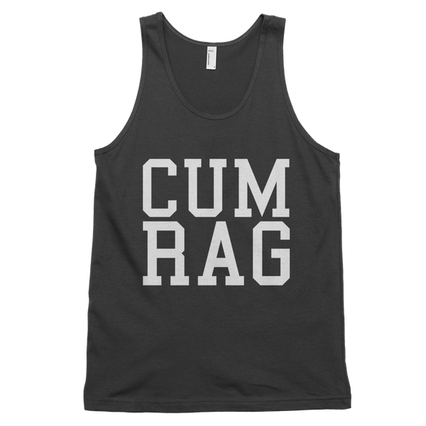 Cum Rag Tank Top - Black