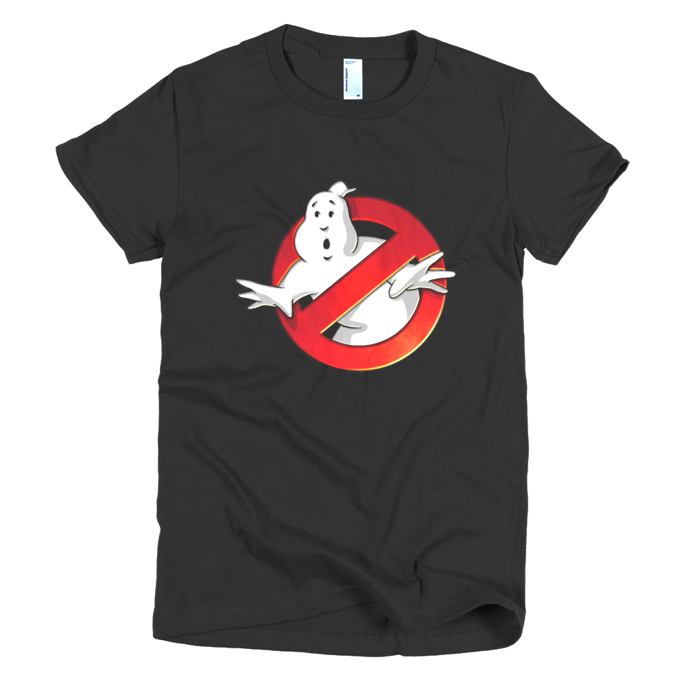 Ghostbusters Womens T-Shirt - Black