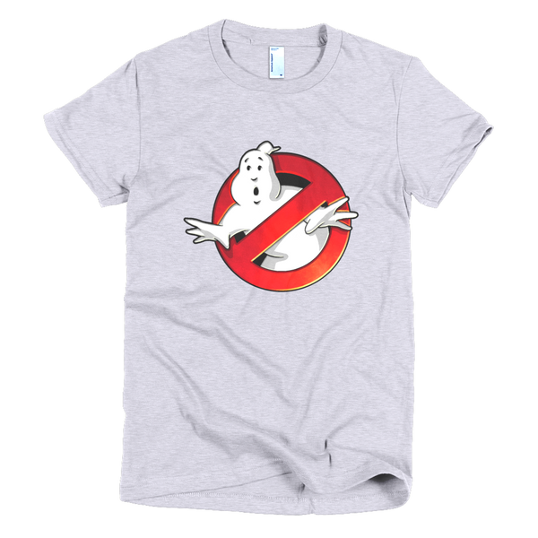 Ghostbuster Womens T-Shirt - Gray