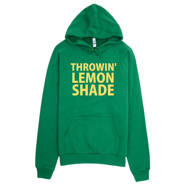 Throwin' Lemon Shade Hoodie - Green