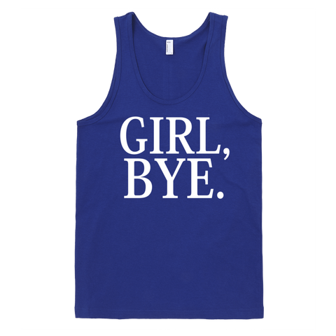 Girl Bye Tank Top - Lapis