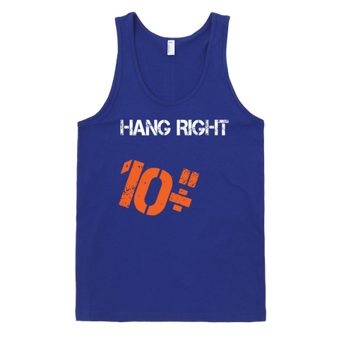 Hang Right 10 Inches Tank Top - Lapis