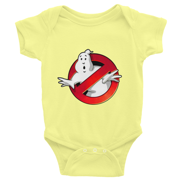 Ghostbusters Infants Onesie - Yellow