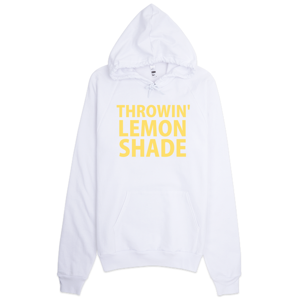 Throwin' Lemon Shade Hoodie - White