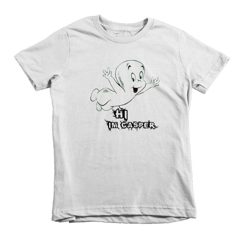 Casper The Friendly Ghost Kids T-Shirt - White