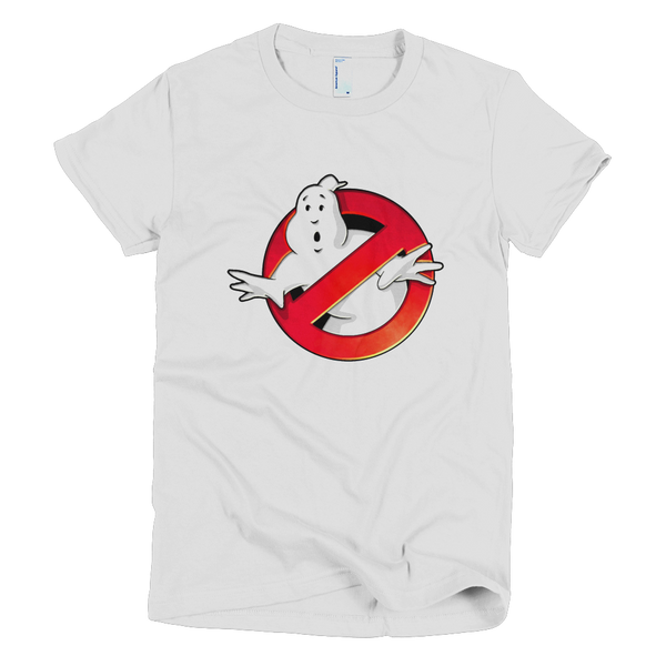 Ghostbuster Womens T-Shirt - White