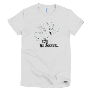 Casper The Friendly Ghost Womens T-Shirt - White