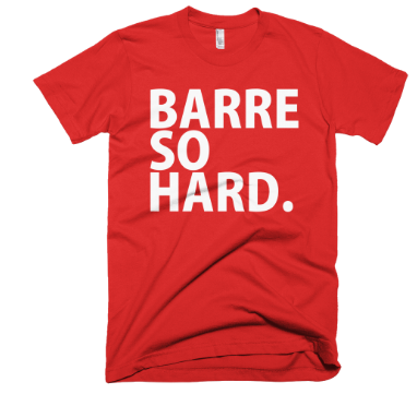 Barre So Hard T-Shirt - Red