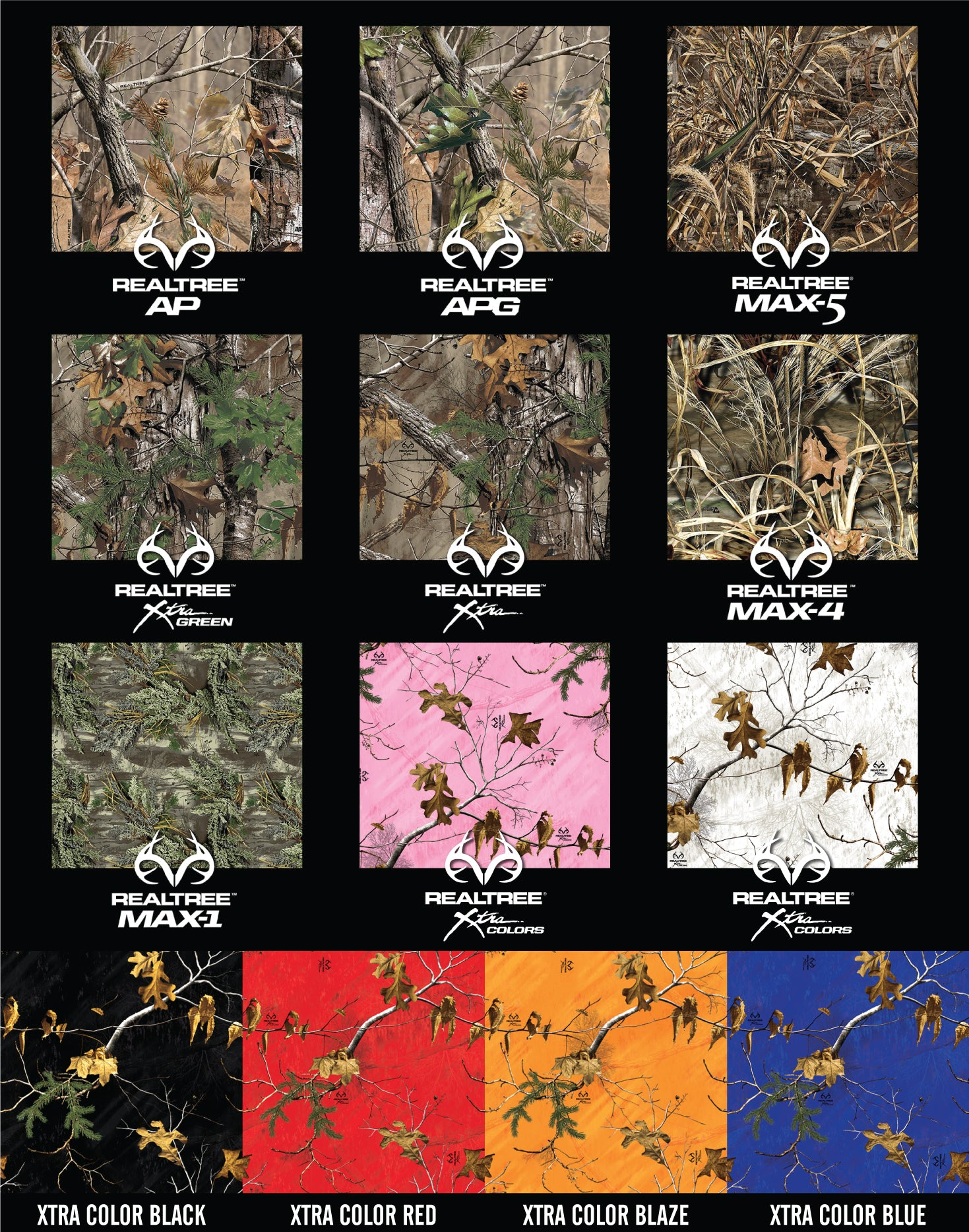 Camo Wrap Swatches