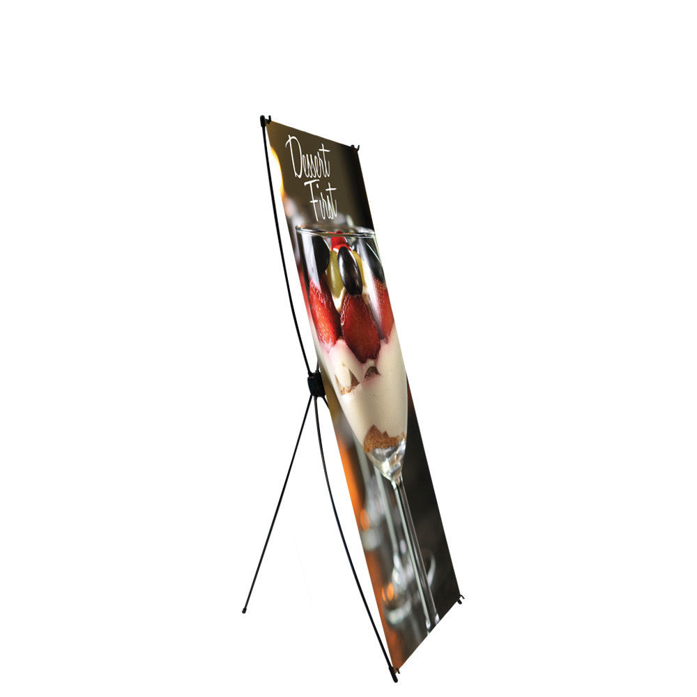 Econo X Banner & Stand