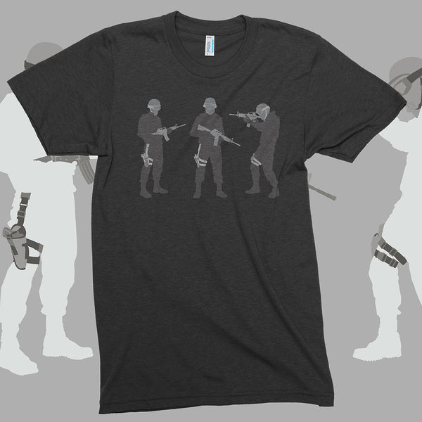 Tactical shooter SWAT team tshirts