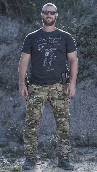 Lightweight Combat Pants Multicam