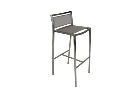 Mesh Bar Stool Grey
