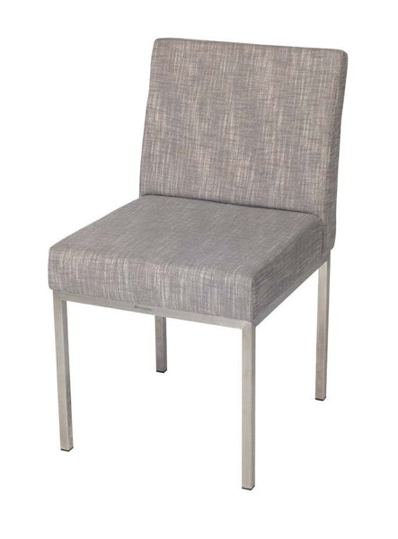 Aqua Chair Polish Fabric Grey