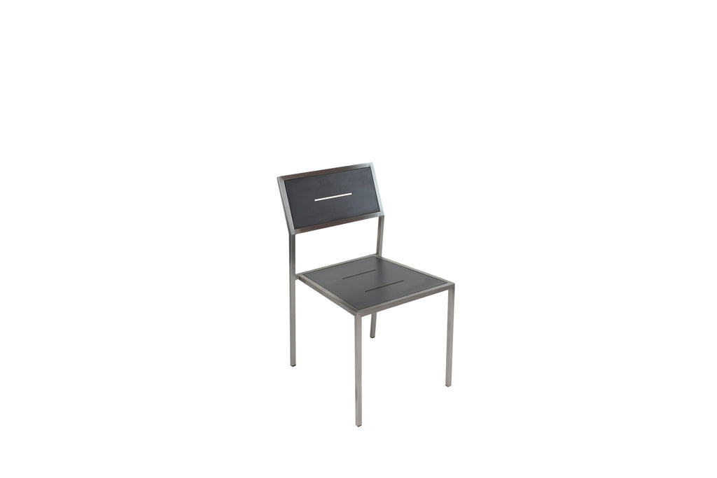 Marine Dining Chair Charcoal Grey