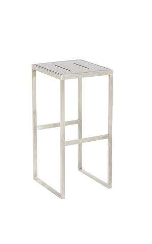 Marine Bar Stools White No Back