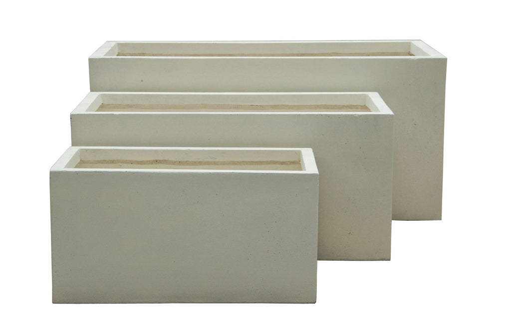 3 Set Tank Pots Cream