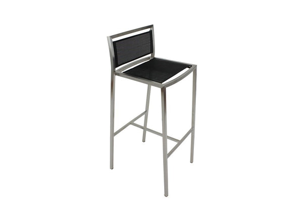 Mesh Bar Stool Black