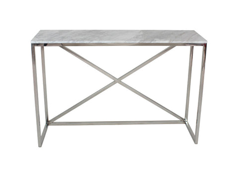 Chelsea Console Table Polish Marble