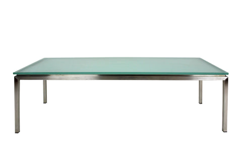 Lilia Coffee Table Rectangle - Obscure Glass