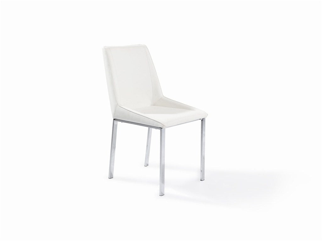 Modern Chair S/S Brushed PU White