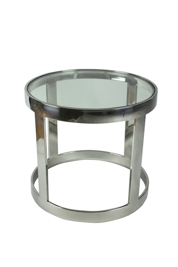 Lilia Side Table Clear Glass