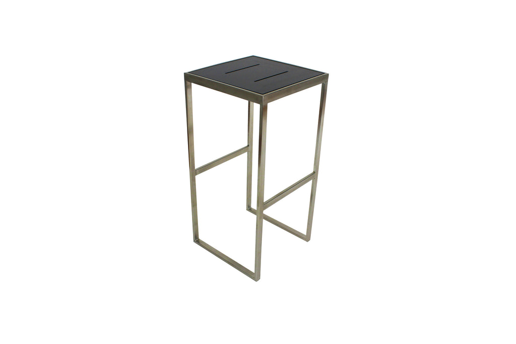 Marine Bar Stools Charcoal Grey No Back