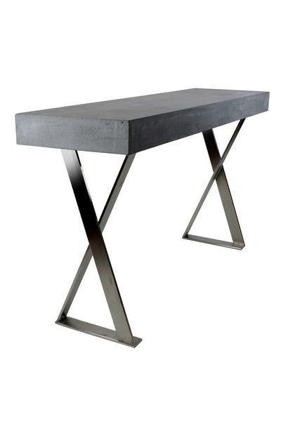 Peninsula Console Table - Grey