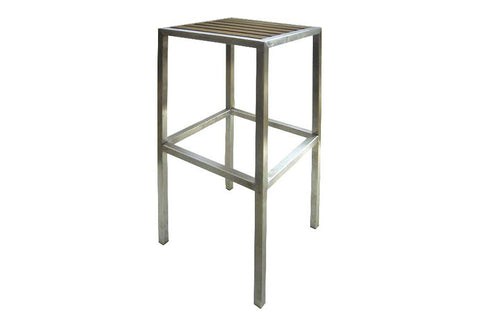Plantation Bar Stool No Back