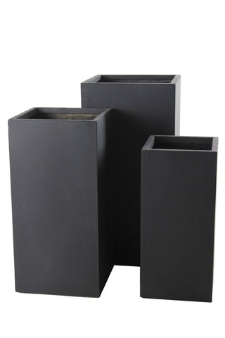 3 Set Cuboid Dark Grey