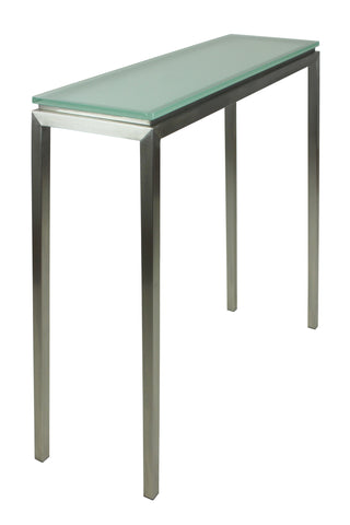 Lilia Console Table Obsecure Glass