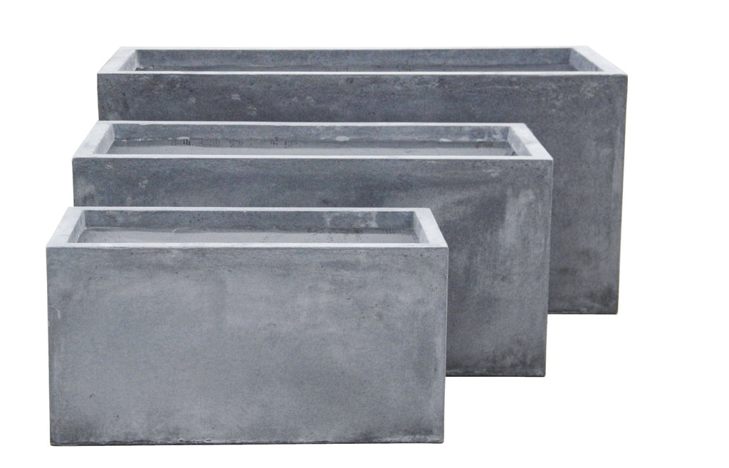 3 Sets Tank Pots Grey