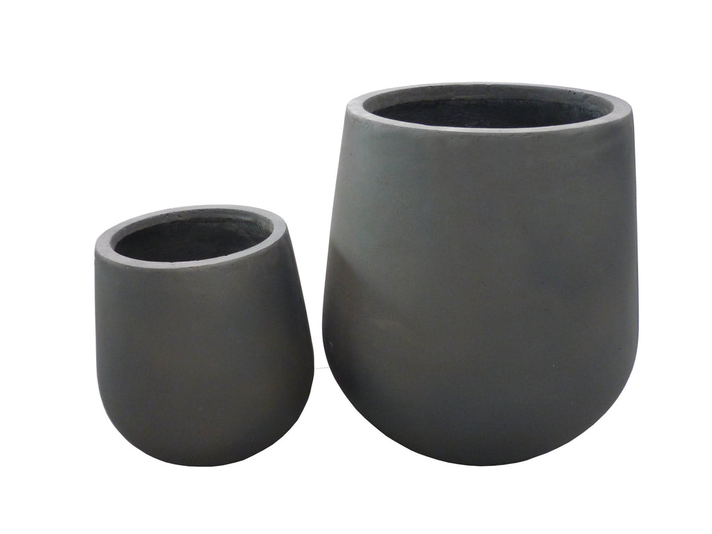 2 Set Round Pots Iron