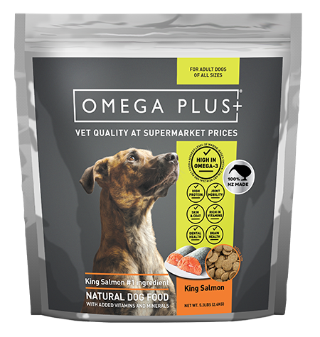 Omega Plus Dog King Salmon  SALE