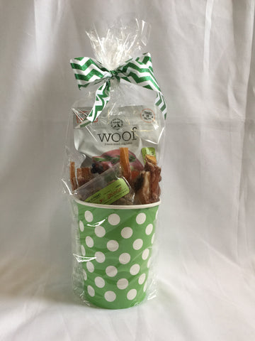Dog Treat Pack - Medium Green