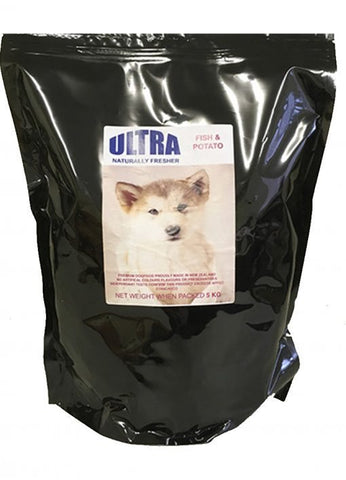 Fish & Potato Sensitive Formula FREE 350 ml Petbrew with 20kg Bags