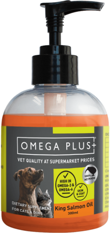 Omega Plus King Salmon Oil