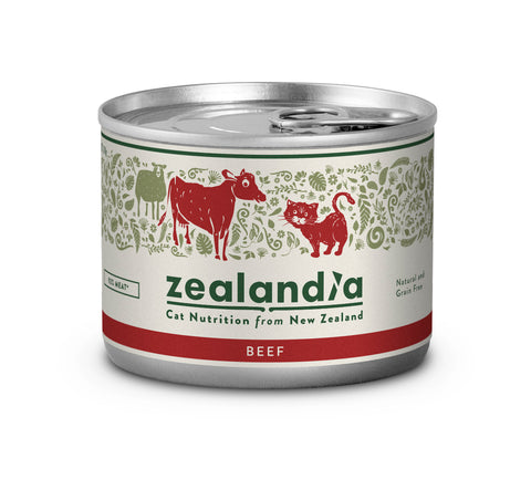Zealandia Cat Free Range NZ Beef 170g Tin