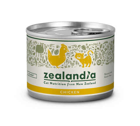 Zealandia Cat Free Range NZ Chicken 170g Tin
