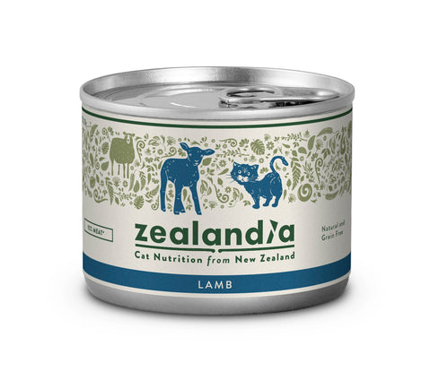 Zealandia Cat Free Range NZ Lamb  170g Tin