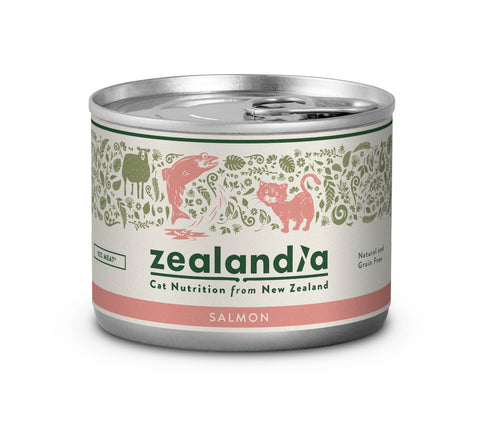 Zealandia Cat Sustainable NZ Salmon 170g Tin